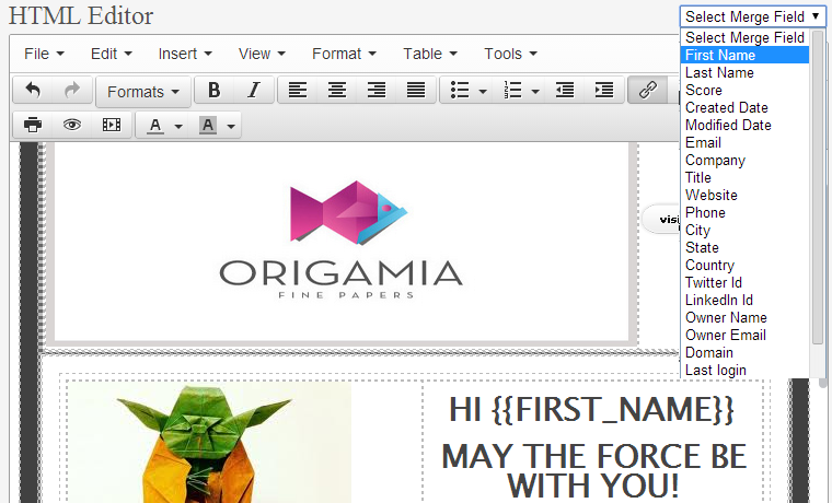 email newsletter generator