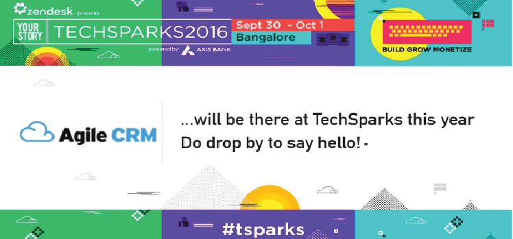 Join The Buzz – Agile CRM At TechSparks