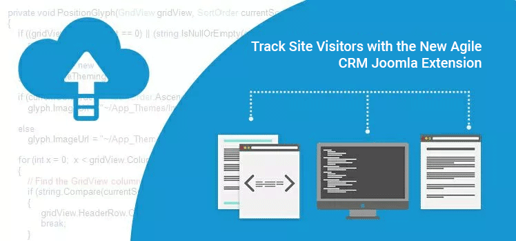 Track Site Visitors with the New Agile CRM Joomla Extension