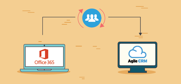 Agile CRM making Contact Syncing a lot more Easier with Office365