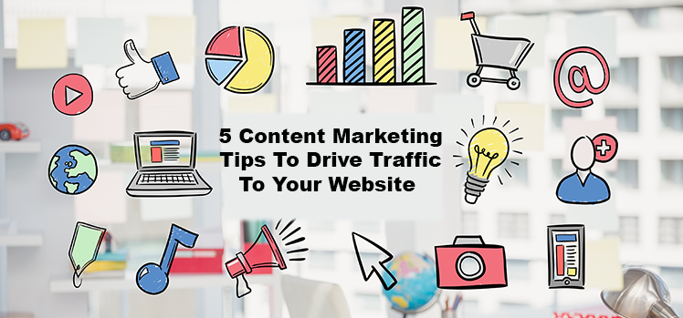 Image result for Content to drive traffic: