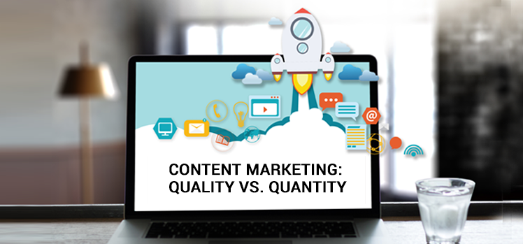 The ultimate debate in content marketing: Quality vs. quantity