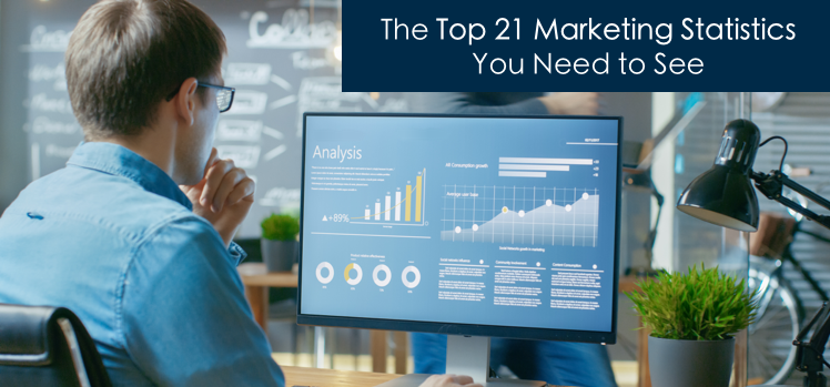 The top 21 marketing statistics you need to see