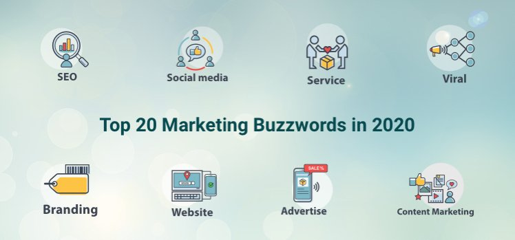 Top 20 Marketing Buzzwords in 2020