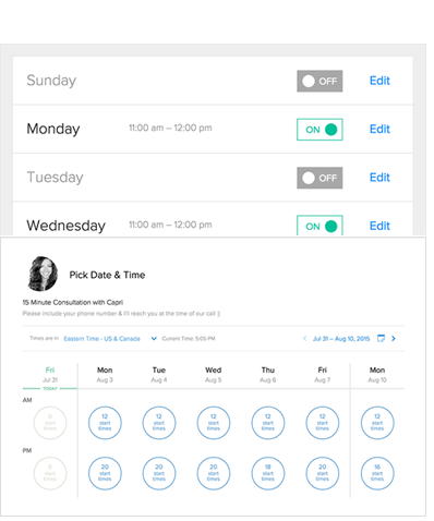 Best 5 Appointment Scheduling Software Tools | Agile CRM